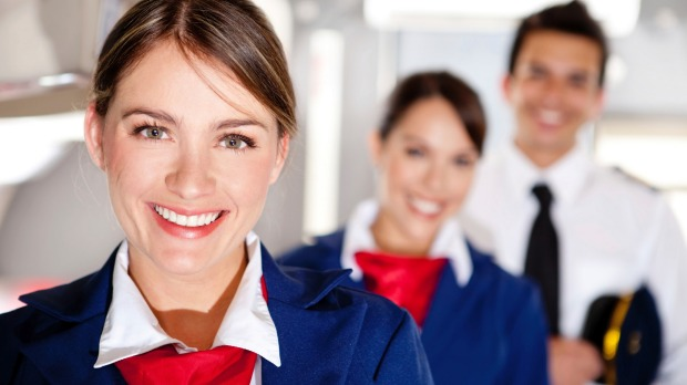 Behind the smiles and greetings, cabin crews are assessing you very closely.