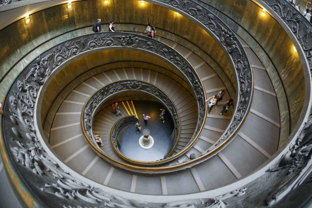 VATICAN CITY:  For visitors, the Vatican provides a staggering collection of art, the world's largest church, and either ...