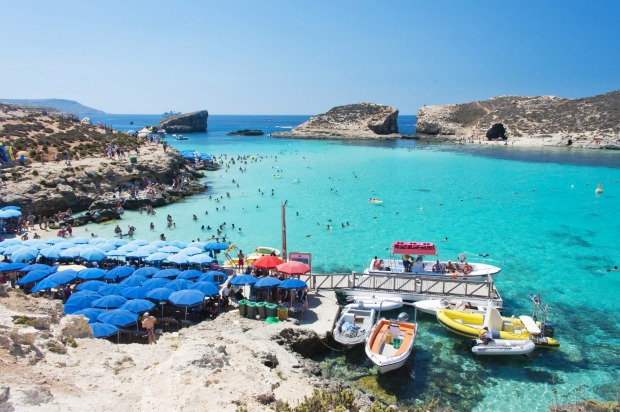 Blue Lagoon Camino Island, Malta: Chock-full of monoliths, cathedrals, palaces and art treasures, all ringed by a ...