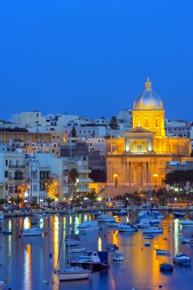 MALTA: Three inhabited islands and a half-million population make Malta a minnow, but its past has whale-like dimensions.