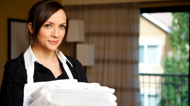 Are You Messy Cleaning Up Your Hotel Room For The Housekeeper