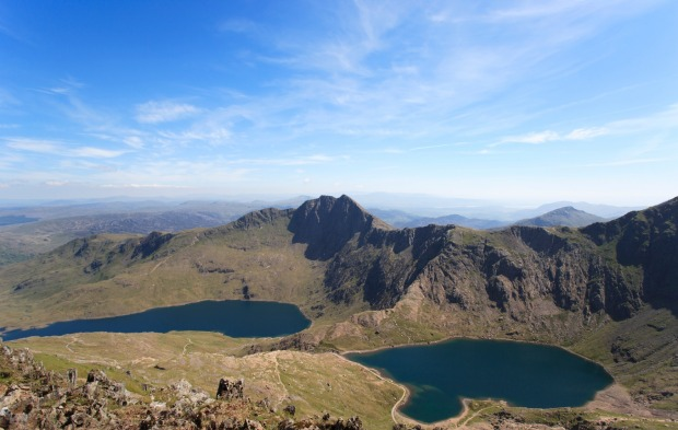 Mt Snowdon, Wales: Around 125,000 people climb Ben Nevis in a year, but almost three times that  number ascend Snowdon.