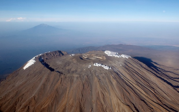 Mt Kilimanjaro, Tanzania: There are seven trails to the summit, with the Marangu route having become so popular it's ...