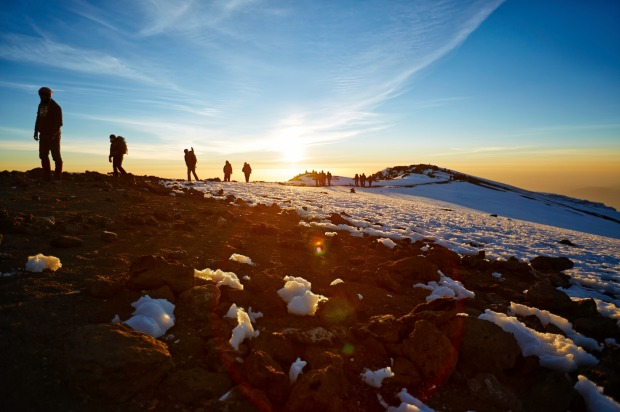Mt Kilimanjaro, Tanzania: It's thought that around 25,000 people attempt to climb Africa's highest mountain each year, ...