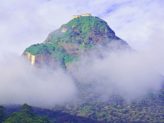 Adam's Peak, Sri Lanka: The pilgrimage season on the conical mountain runs from around December to May, and there's an ...