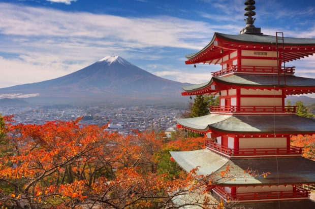 Mt Fuji, Japan: As the perfectly conical backdrop to Tokyo, a city of 13 million people, it's little wonder that Mt Fuji ...