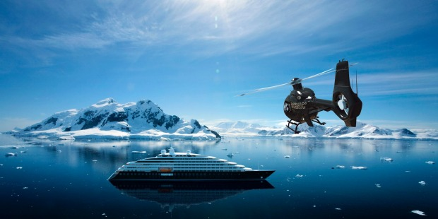 Scenic Eclipse cruises to the Arctic and Antarctica regions will have two-on-board helicopters.