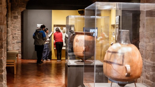 There are fascinating exhibits inside the Casa Concha Museum.