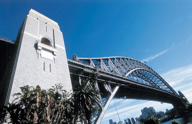The South East pylon, Sydney Harbour Bridge.