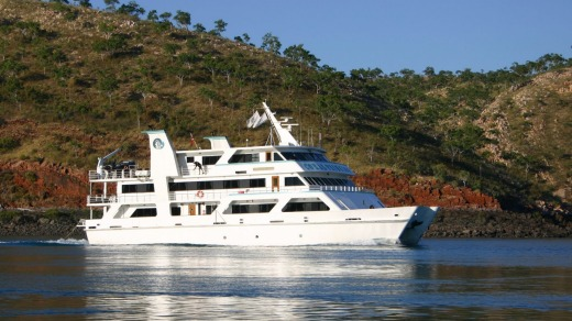 Coral Expeditioner I in the Kimberley for Aurora Expeditions.