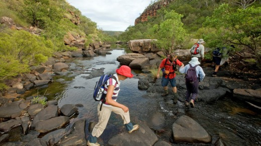 Kunmunya Wilderness Walk in the Kimberleys with Aurora Expeditions.