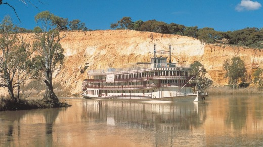 Murray Princess on the Murray River.