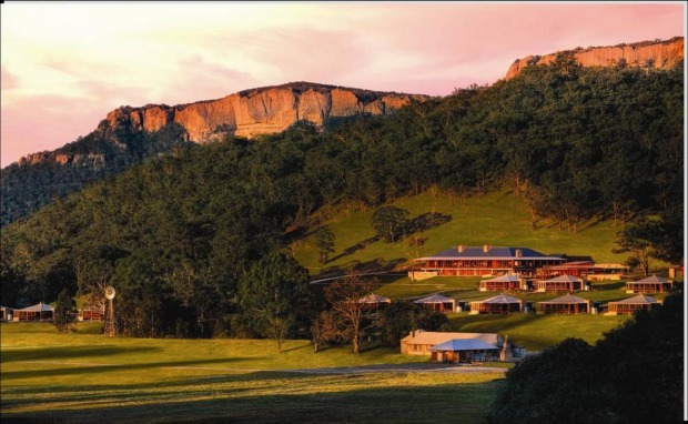 4. Emirates One&Only – Wolgan Valley, New South Wales. This property took out the no.1 spot for Australia overall.
