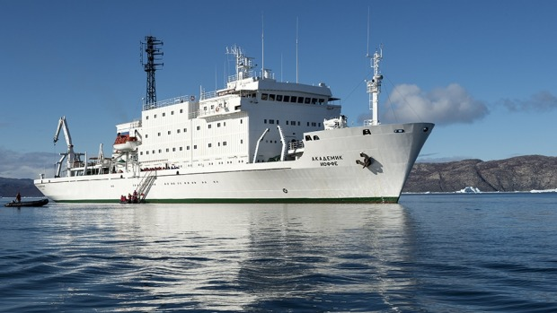 Russian authorities are refusing to release the ship MV Akademik Ioffe and its sister MV Akademik Sergey Vavilov, leased ...