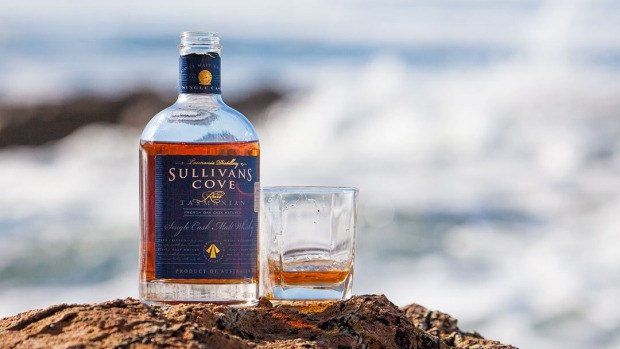 Sullivans Cove French Oak Cask whisky, which won best single malt at the 2014 World Whiskies Award.