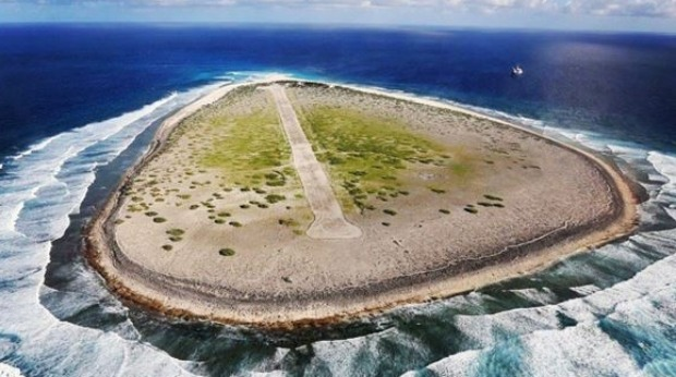 Tromelin Island is home to little but a weather station plus booby and turtle nesting sites: