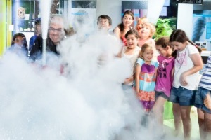 Fun at Questacon, a Canberra venue that's a must-see for visiting families.