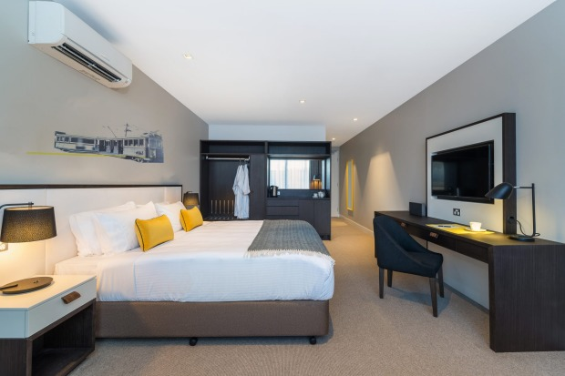 A room at Peppers Docklands, Melbourne