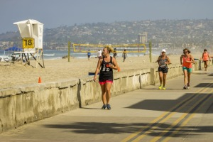 Mission Beach is the place to head to for a seriously epic walk/run/cycle.