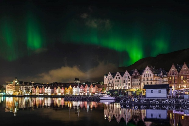 The Northern Lights, Norway: You might be waiting all night for a glimpse of the green, pink and violet waves that lash ...