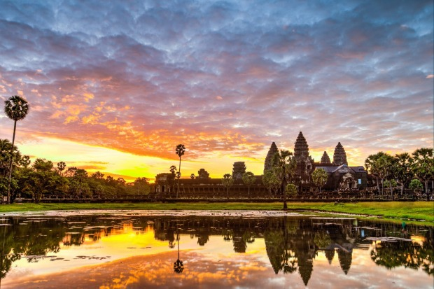 Angkor Wat, Cambodia: Don't let the crowds put you off. This is still one of the world's great sights to watch a sunrise.