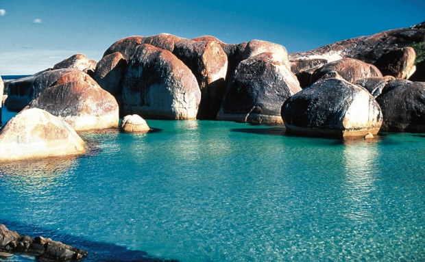 Elephant Rocks near Walpole and Denmark Western Australia.