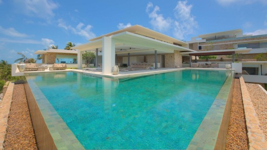 All villas have over-sized living areas, state-of-the-art kitchens and large infinity edge pools.