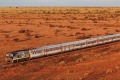 The Indian Pacific (pictured) and and The Ghan will have new Platinum Club carriages by April 1.