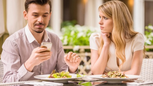 Should adults who can't stop looking at their phones be banned from restaurants too?