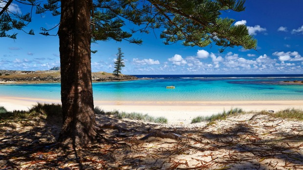 Perfect escape: Norfolk Island.