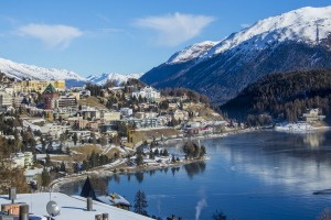 St Moritz continues to be attractive to the rich and famous because of the area's physical beauty and remoteness.