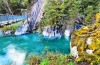 Blue Pools, New Zealand: A stony beach will always be less comfortable than a sandy one, but when the water is this ...