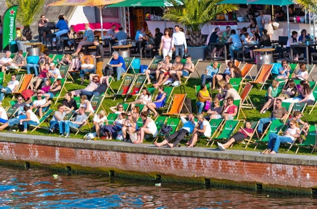 Strandbad Mitte, Berlin: First-time visitors are often surprised by the many waterways that wind through Berlin: the ...
