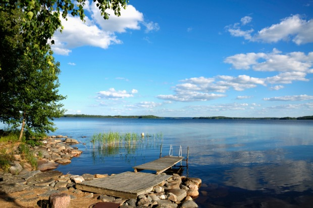 Lake Saimaa, Finland: They don't get much of a summer in Finland. Even in the areas that fall below the Arctic Circle, ...