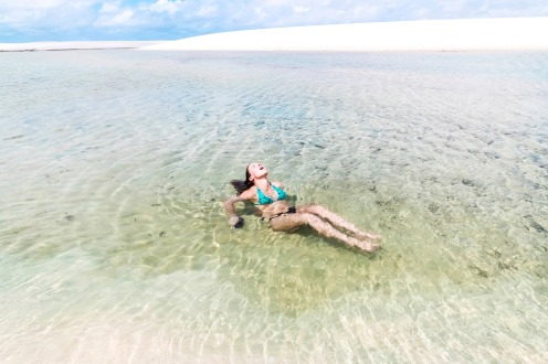 Lençóis Maranhenses National Park, Brazil: All it takes is some rain. When the wet season comes to this north-eastern ...
