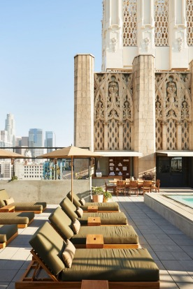 Rooftop pool at The Ace.