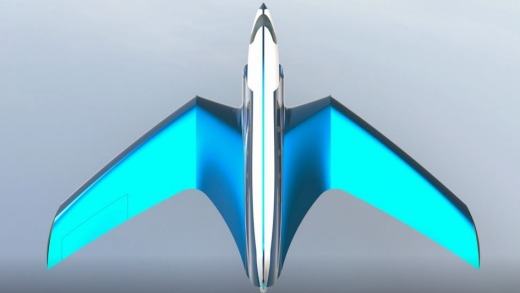 The jet would have rocket boosters attached to its wings.