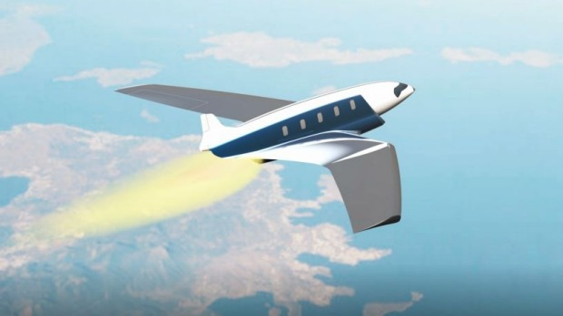 London to New York in 11 minutes: The Antipode hypersonic jet.