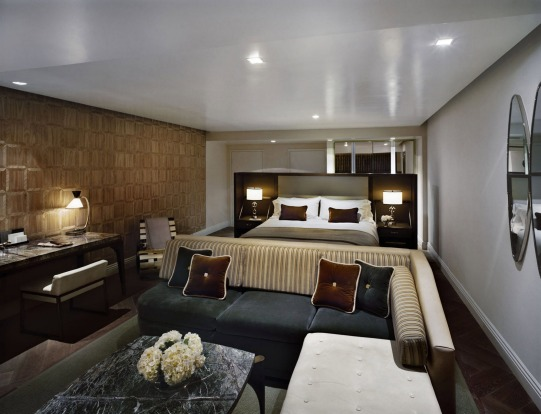 A suite at The London, West Hollywood.