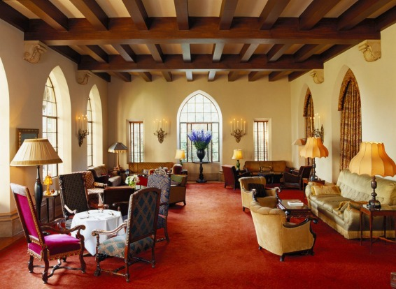 The lobby, Chateau Marmont.