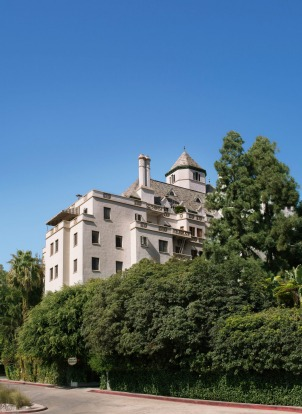 Castle-like Chateau Marmont, West Hollywood.