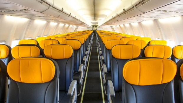 Tigerair 737. The plane features an all-economy class fit out with 180 seats.