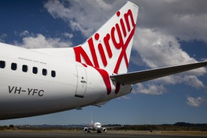 What's the name of Virgin Australia's CEO?