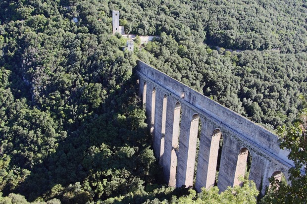 Spoleto to Norcia and the Monti Sibillini loop, Italy.