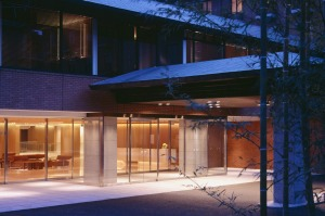 Unobtrusive exterior: The Hyatt Regency Kyoto simply gets it right.