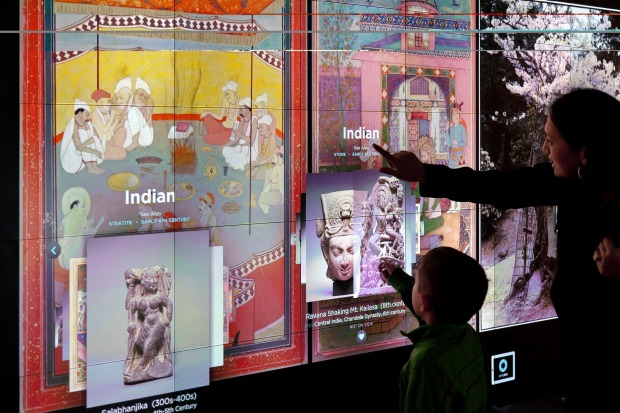 The Cleveland Museum of Art has invested heavily in technology.