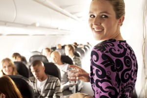 Air New Zealand crew members are friendly and efficient.