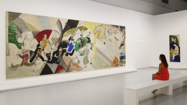 """From Chagall to Malevich"" is showing at Grimaldi Forum."
