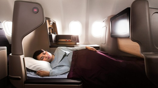 The Business Suite, Qantas.