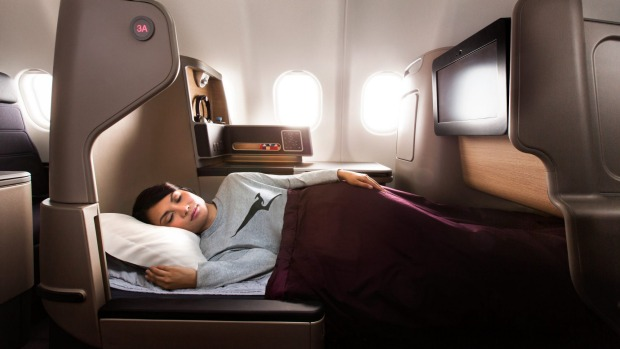You can now earn frequent flyer points while you're sleeping, even if you're not on a plane.